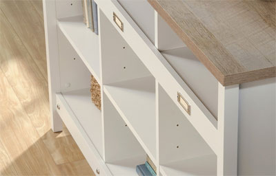 9-Cubby Storage Unit Adjustable Shelves