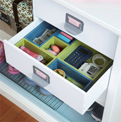 Drawer Organizer for Mudroom Locker
