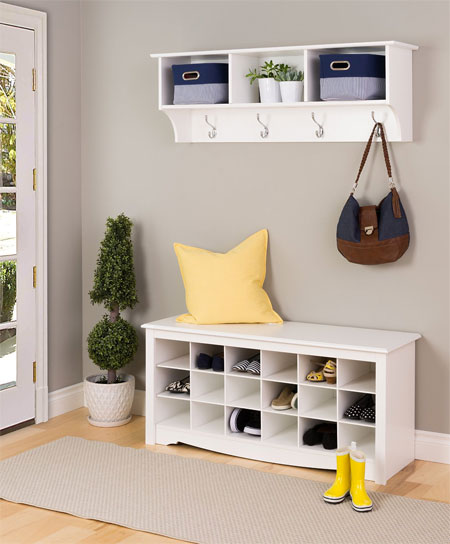 Cubby Shelf Better Than An Entryway Shelf With Hooks