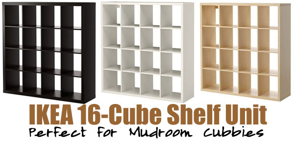 - Using An IKEA Cube Bookshelf As Mudroom Cubbies