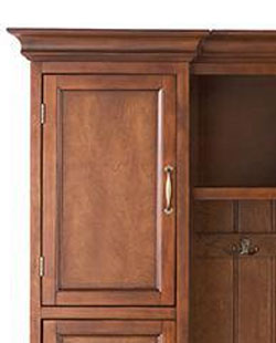 Royce Cabinet Close-Up with Hardware & Molding Details